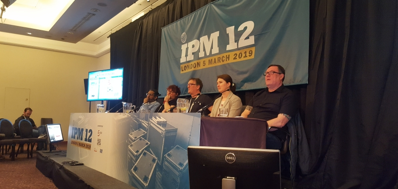 Chula Goonewardene speaks at 'IPM 12: THE SHOW MUST GO ON, BUT AT WHAT COST?'