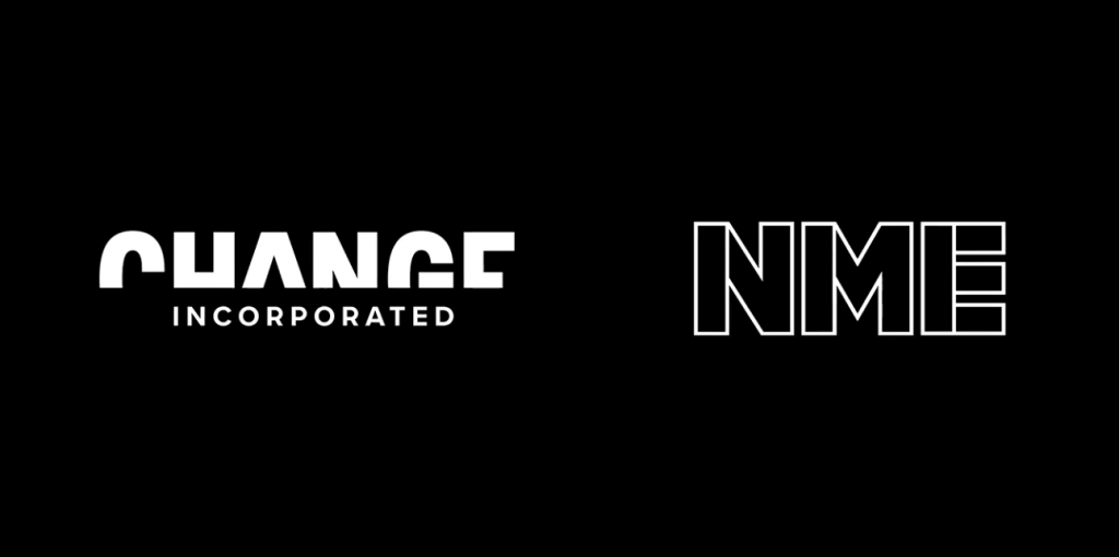 NME x Change Incorporated logos